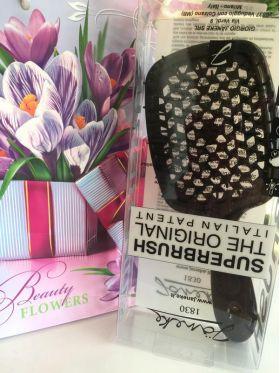 Расческа для волос Janeke Superbrush 1830 The Original Italian черная - Best-Parfum