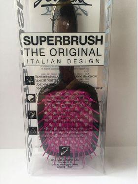 Расческа для волос Janeke Superbrush 1830 The Original Italian черный/фиолетовый - Best-Parfum